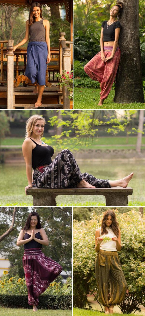 Calça Thai - Moda Justa e Consciente | Calças femininas | Não Me Mande Flores