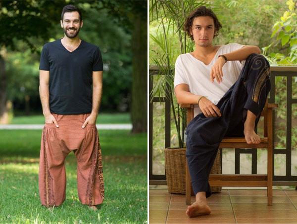Calça Thai - Moda Justa e Consciente | Calças masculinas | Não Me Mande Flores
