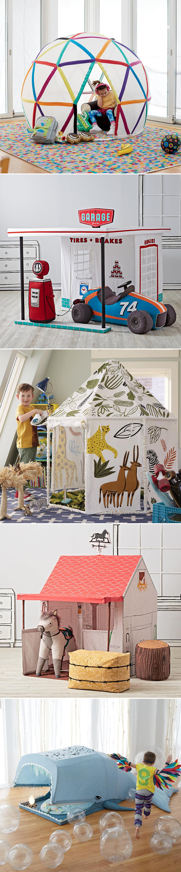 The Land of Nod Playhouses | Não Me Mande Flores