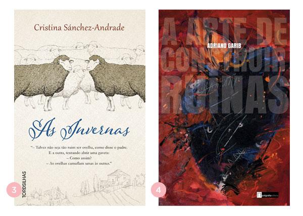 Mini-resenhas dos livros: As Invernas + A Arte de Construir Ruínas | Não Me Mande Flores