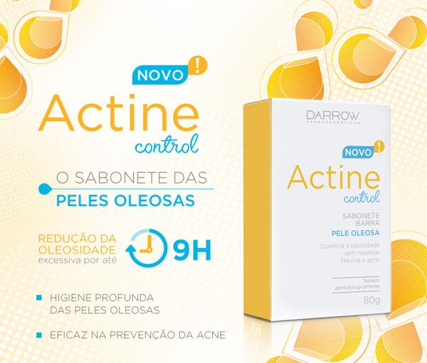 Actine Control - Sabonete Barra | O sabonete das peles oleosas