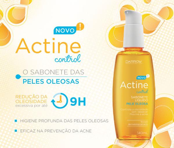 Actine Control - Sabonete Líquido | O sabonete das peles oleosas