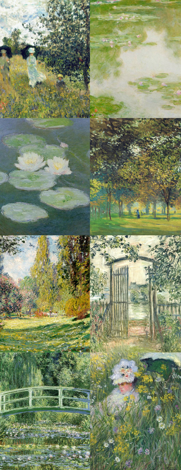 Monet Mood | Claude Monet | Pintura Impressionista