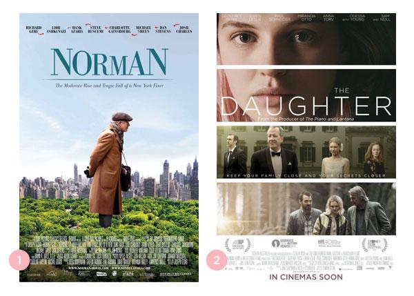 Mini-resenhas dos filmes: Norman e A Filha | Não Me Mande Flores