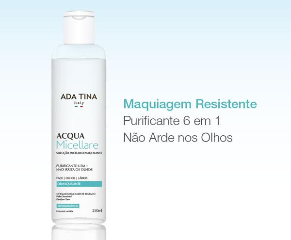 Ada Tina Acqua Micellare | Resenha Não Me Mande Flores