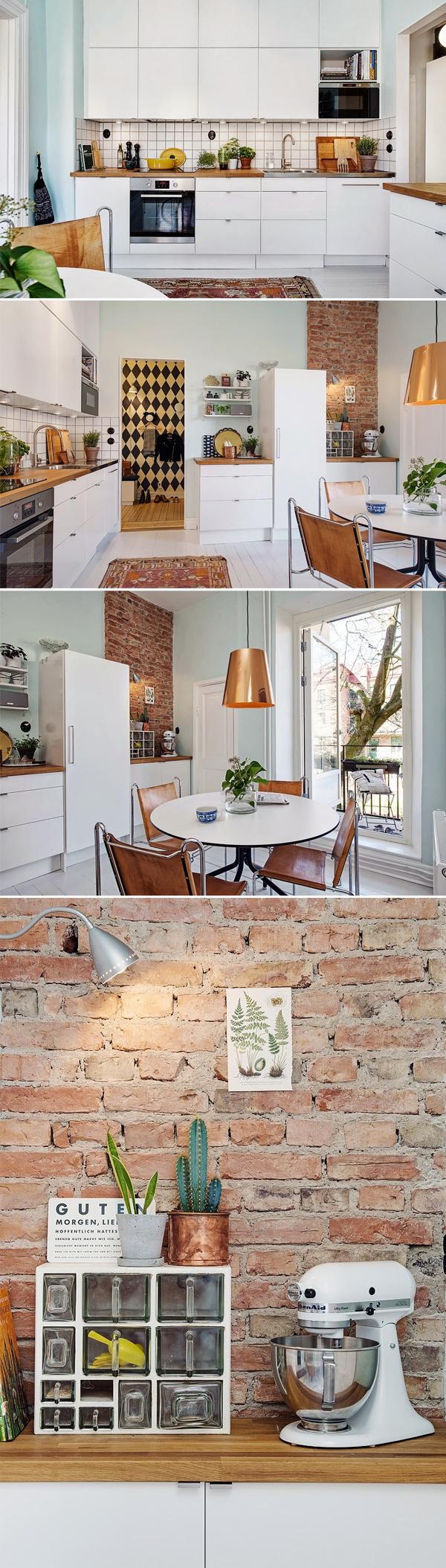 Apartamento-Inspiração em Göteborg, Suécia | Cozinha