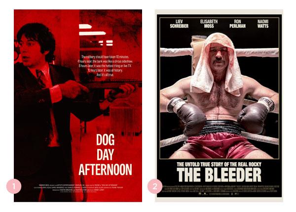 Mini-Resenhas dos Filmes: Um Dia de Cão (Dog Day Afternoon) e Punhos de Sangue (The Bleeder)