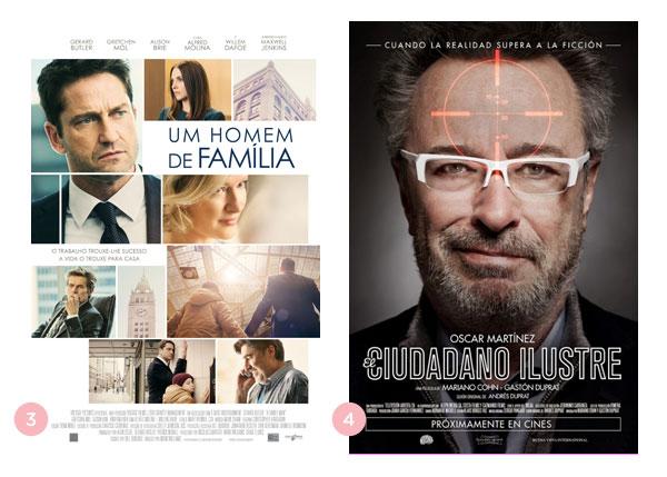 Mini-Resenhas dos Filmes: Um Homem de Família (The headhunter's calling) e O Cidadão Ilustre (El Ciudadano Ilustre)