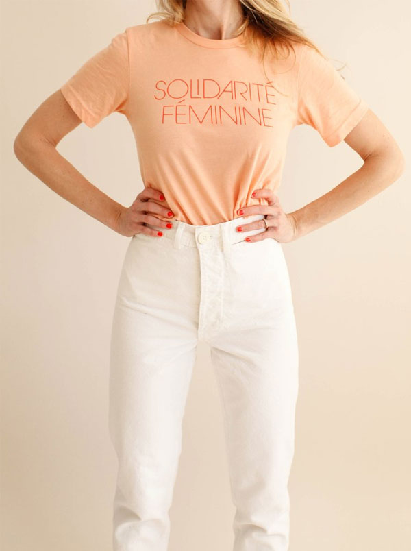Solidarité Féminine T-Shirt | MILLE + Maddy Nye