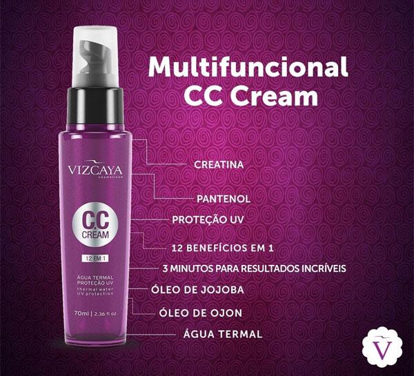 Vizcaya CC Cream 12 em 1