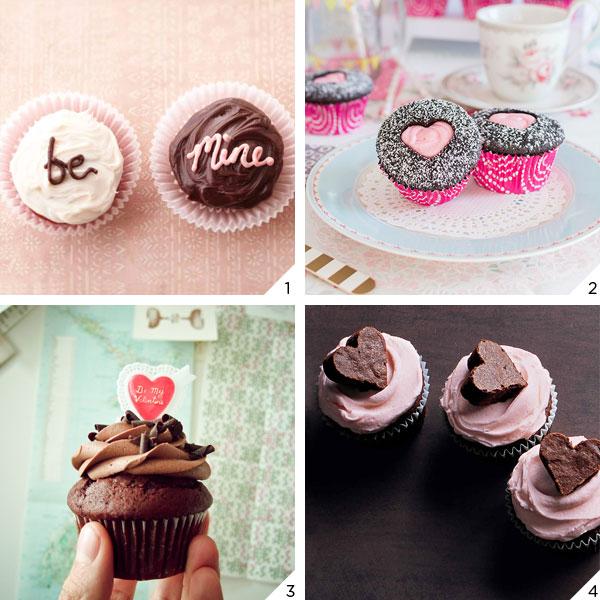Cupcakes Românticos | Dia dos Namorados