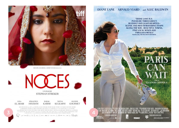 Mini-resenhas dos filmes: A Garota Ocidental (Noces) e Paris Pode Esperar (Paris Can Wait) | Não Me Mande Flores