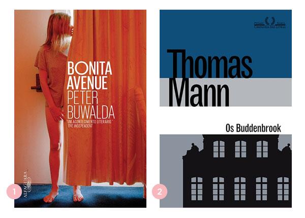 Mini-resenhas dos livros: Bonita Avenue e Os Buddenbrook | Não Me Mande Flores