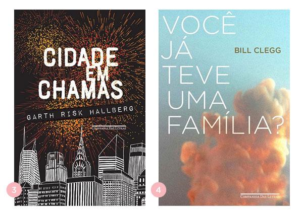 Mini-resenhas dos livros: Cidade em Chamas e Você já teve uma família? | Não Me Mande Flores