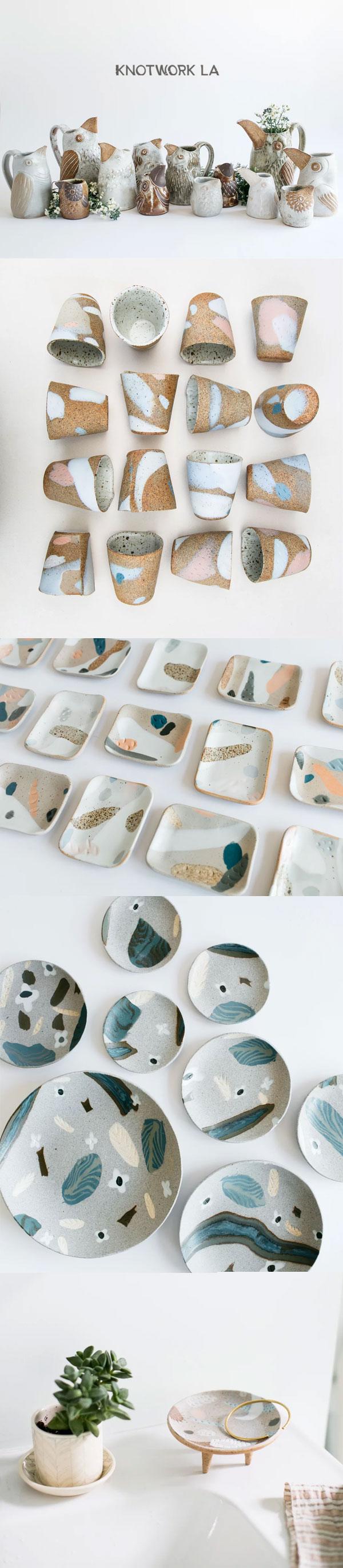 Knotwork LA | Cerâmica by Linda Hsiao
