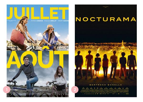 Mini-resenhas dos filmes: Julho Agosto e Nocturama | Não Me Mande Flores