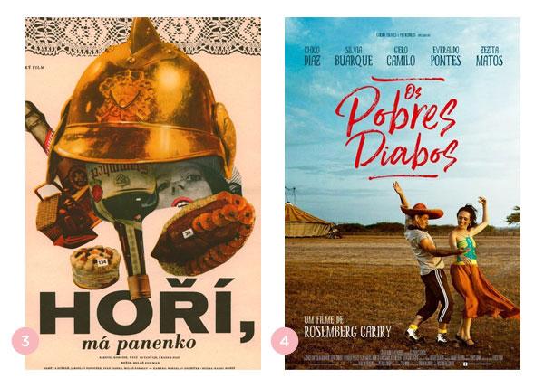 Mini-resenhas dos filmes: O Baile dos Bombeiros e Os Pobres Diabos | Não Me Mande Flores