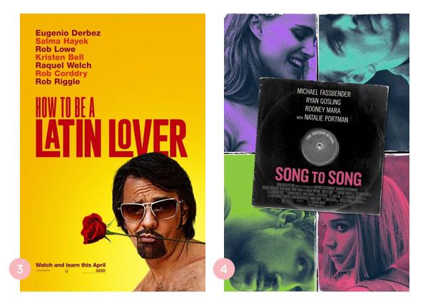 Mini-resenhas dos filmes: Como Se Tornar um Conquistador e De Canção em Canção | Não Me Mande Flores