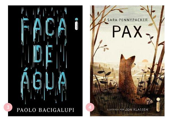 Mini-resenhas dos livros: Faca de Água e Pax | Não Me Mande Flores