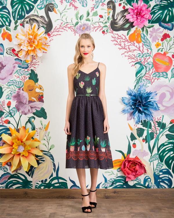 Antix Bossa Flora | Vestido Suculentas