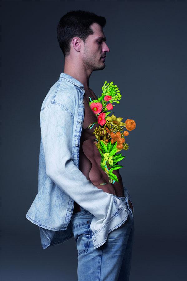 Marcelo Monreal para Damyller | Diego Miguel fotografado por Nicole Heiniger, com styling de Pedro Sales.