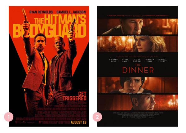 Mini-resenhas dos filmes: Dupla Explosiva e O Jantar | Não Me Mande Flores