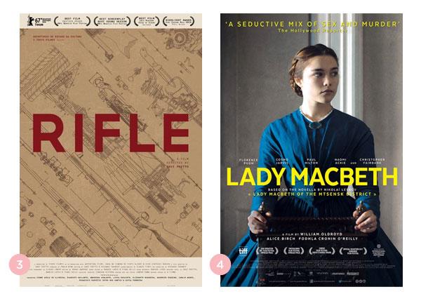 Mini-resenhas dos filmes: Rifle e Lady Macbeth | Não Me Mande Flores