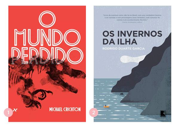 Mini-resenhas dos livros: O Mundo Perdido e Os Invernos na Ilha | Não Me Mande Flores