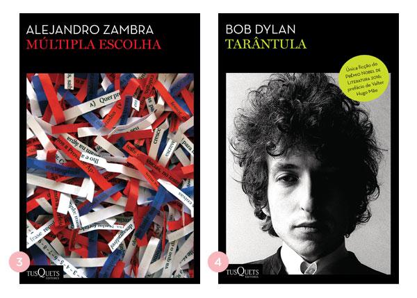 Mini-resenhas dos livros: Múltipla Escolha e Tarântula | Não Me Mande Flores