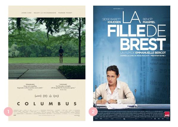 Mini-resenhas dos filmes: Columbus e 150 Miligramas (La Fille de Brest)