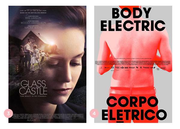 Mini-resenhas dos filmes: O Castelo de Vidro (The Glass Castle) e Corpo Elétrico | Não Me Mande Flores