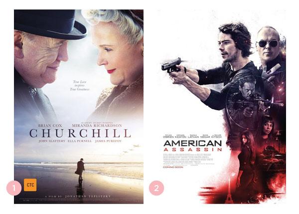Mini-resenhas dos filmes: Churchill e American Assassin | Não Me Mande Flores