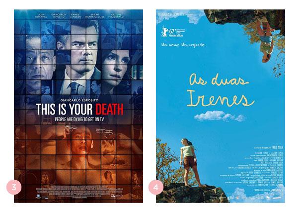 Mini-resenhas dos filmes: Esta é a sua Morte e As Duas Irenes | Não Me Mande Flores