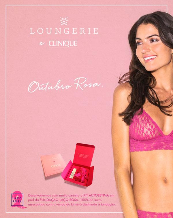 Loungerie Outubro Rosa   KIt Autoestima