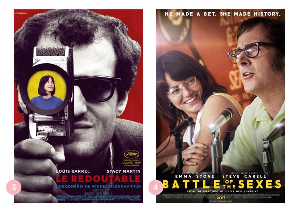 Mini-resennhas dos filmes: O Formidável e A Guerra dos Sexos | Não Me Mande Flores