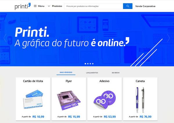 Printi | A gráfica do futuro é online