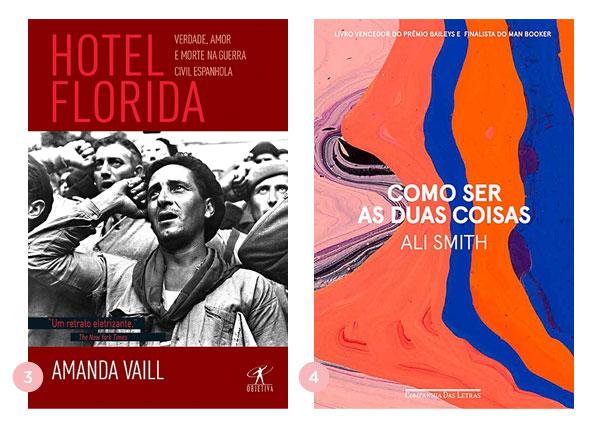 Mini-resenhas dos livros: Hotel Florida e Como Ser as Duas Coisas | Não Me Mande Flores