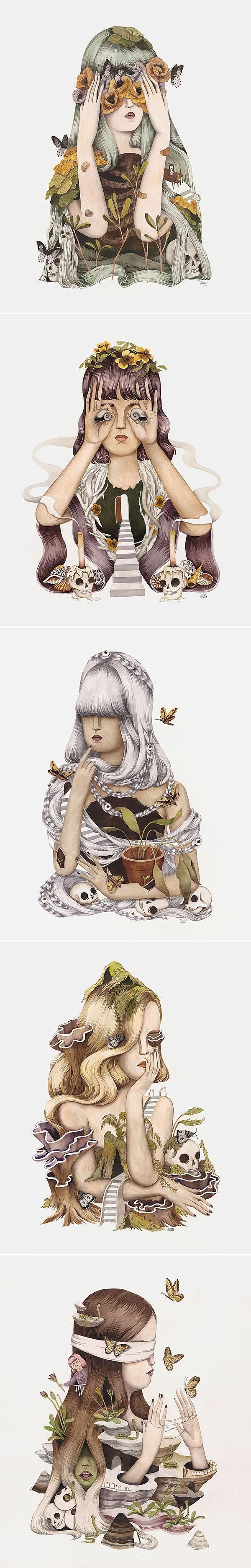 Fleeting Seasons I by Andrea Wan | Não Me Mande Flores