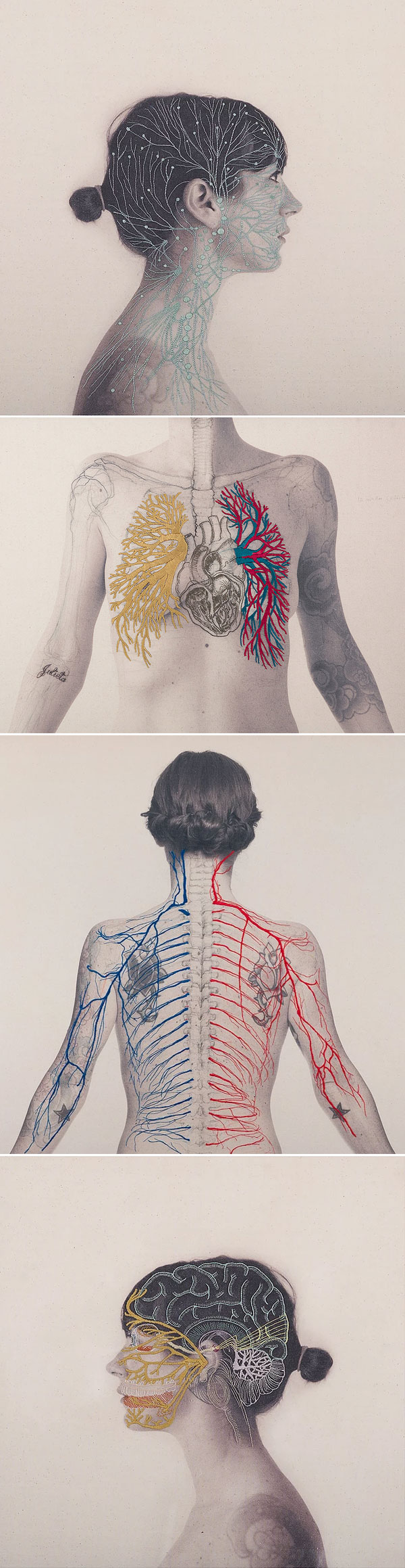 Constructal by Juana Gómez | Embroidery & Photography