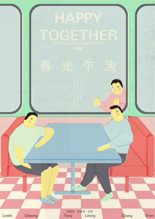 Felizes Juntos | Wong Kar Wai por Jamie Edler