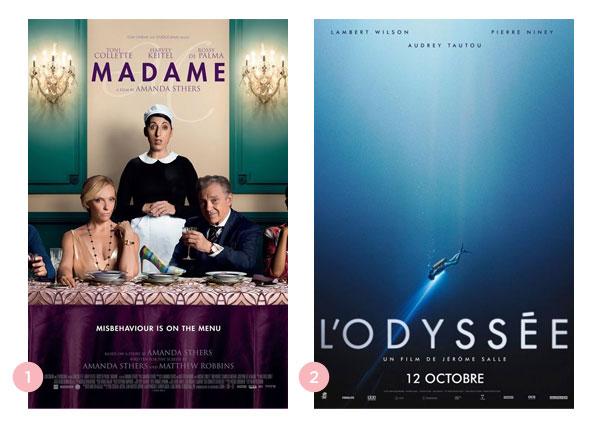 Mini-resenhas dos filmes: Madame e A Odisseia | Não Me Mande Flores