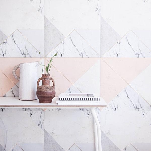 Photowall | Lilesadi - Marble 2.0 Nude | Wall Mural