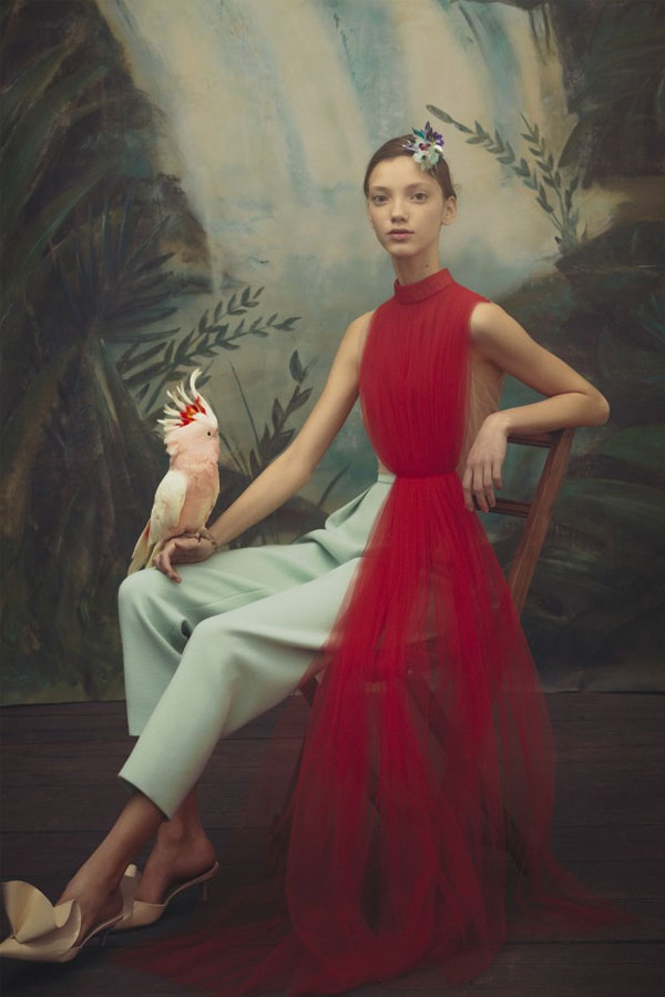 Captured Beauty by Delpozo   Pre Fall 2018