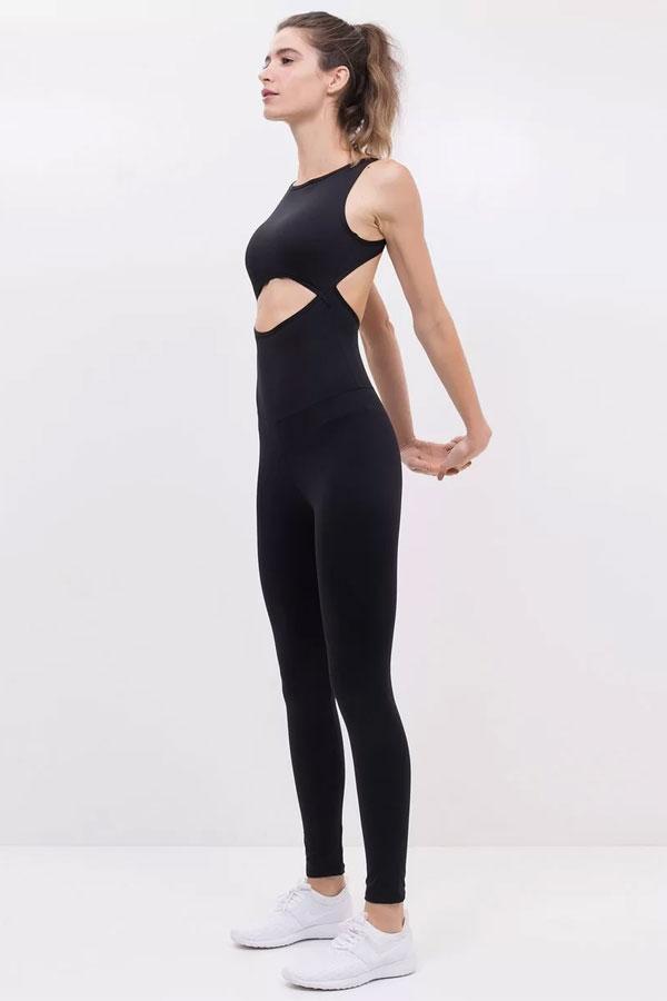 Yogawear | Renner Macacão Esportivo com Recortes