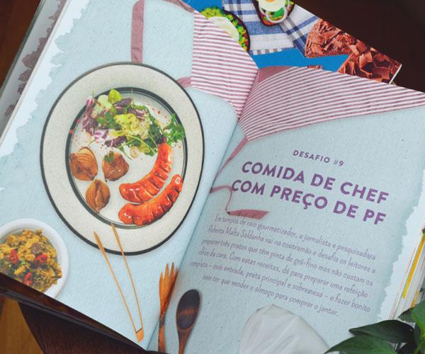 Desafios Culinários - Missões Impossíveis para Conquistar Panelas e Paladares | Editora Alaúde
