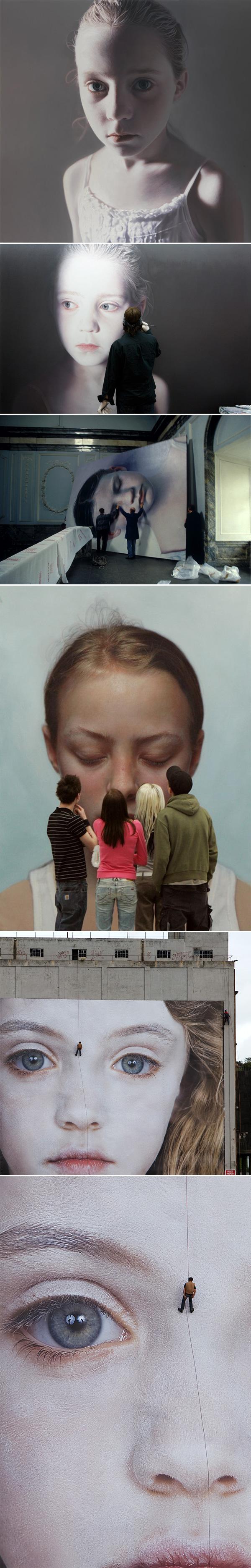 Gottfried Helnwein | arte hiper-realista