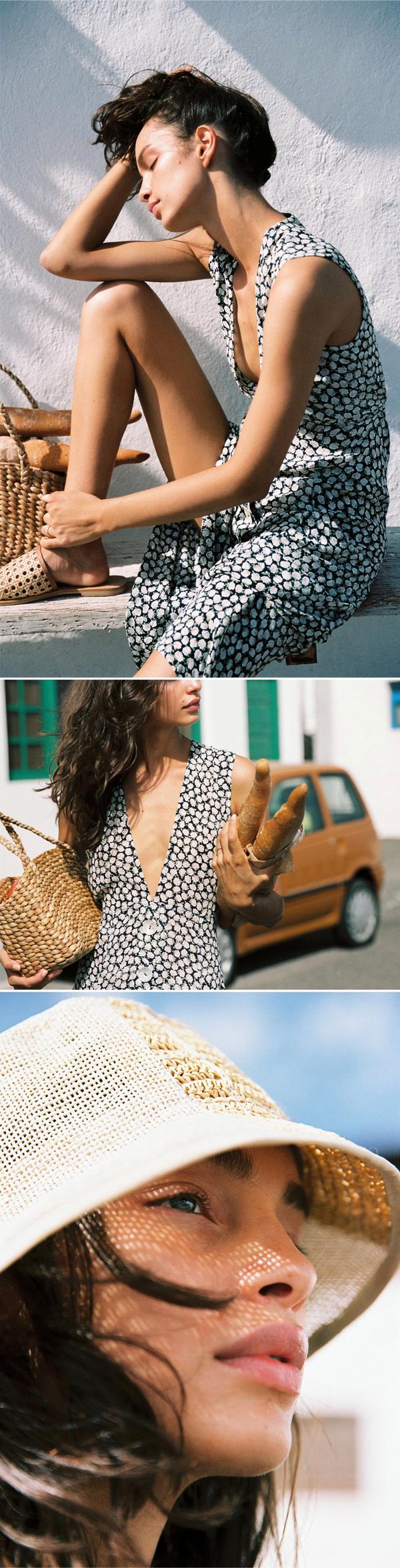 Las Nómada | Luma Grothe fotografada por Cameron Hammond para a campanha de verão da Faithfull The Brand.