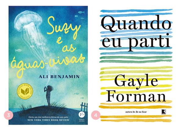 Mini-resenhas dos livros: Suzy e as águas-vivas e Quando eu parti | Não Me Mande Flores