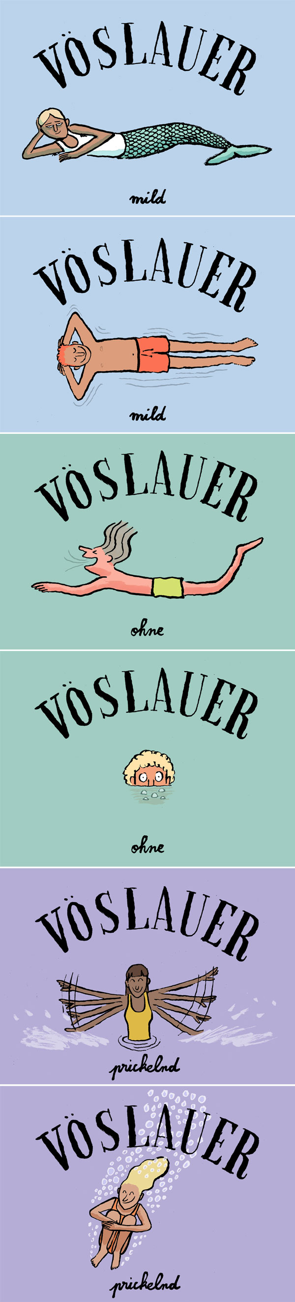 Jean Jullien for Vöslauer | design