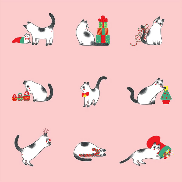 Cat Christmas | Jongmee